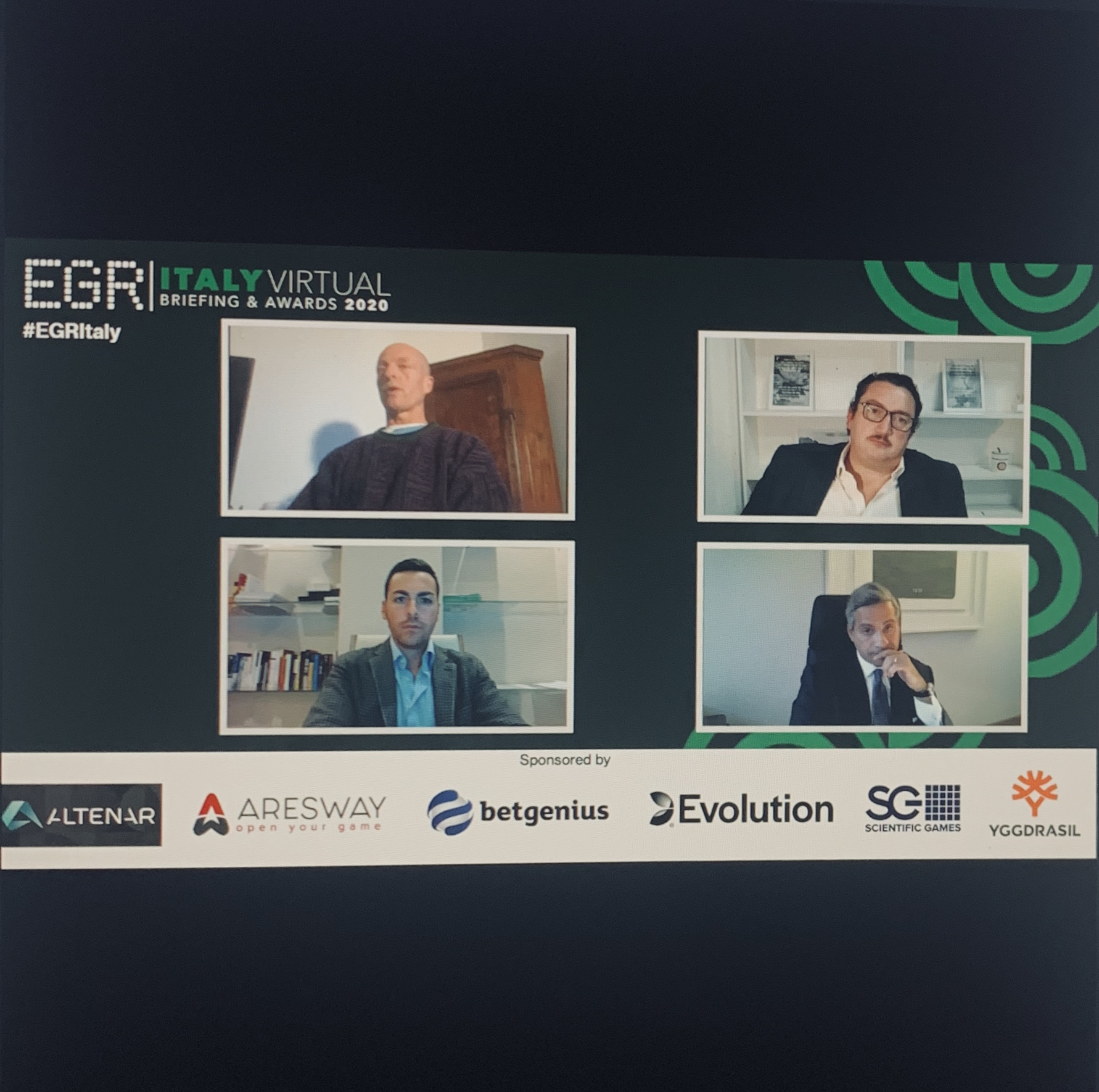 EGR ITALY AWARDS 2020: l'intervento del CEO Francesco Maddalena